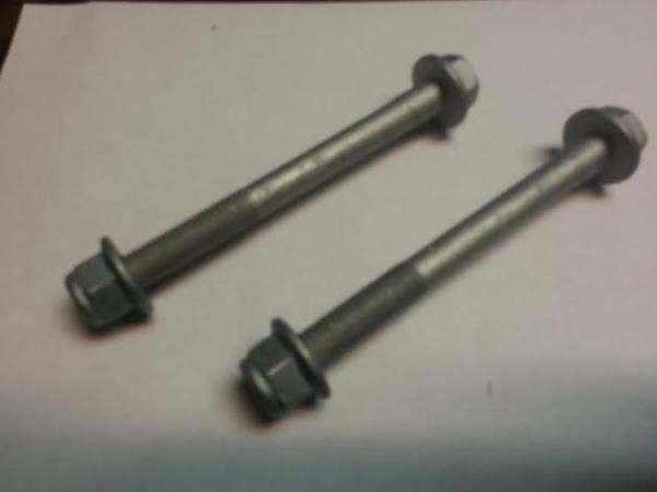 Oem Vw Rear Axle Bushing Nut  U0026 Bolt Pair  Mk4