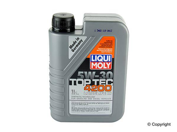 liqui moly top tec 4200 1 liter 2007 present. Black Bedroom Furniture Sets. Home Design Ideas