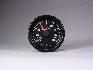 NewSouth Performance - Indigo 0-30 in hg, 0-25 PSI Boost Gauge