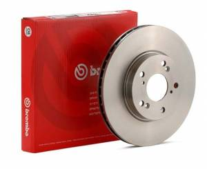 Brembo - Brembo Rear Rotor set 272mm Golf Mk6 and Mk7 and Jetta and Sportwagen Mk5, Mk6, Mk7 and Golf Sportwagen Mk7