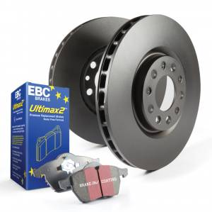 EBC Brakes - Stage 1 Kits Ultimax2 and RK rotors (Rear Package)