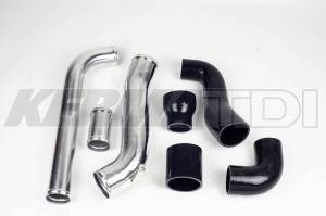 "KermaTDI - Complete Smic 2.5"" Upgraded Intercooler Plumbing Kit (ALH GOLF/JETTA)"