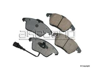 Akebono - Akebono Euro Brake Pads for Mk5 (Rear Pair) (260mm)