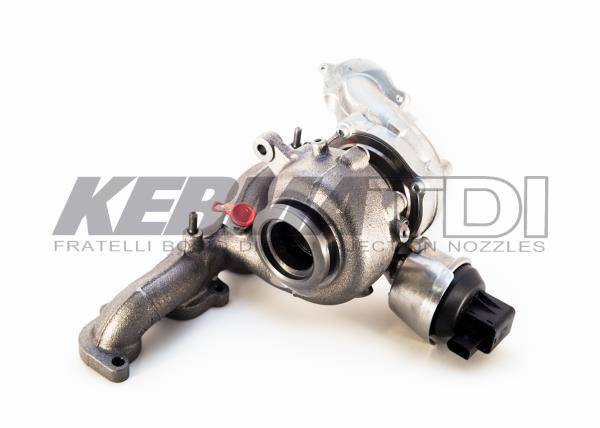 Borg Warner - Common Rail Borg-Warner Turbocharger (Mk5 CBEA) (Mk 6 CJAA) 2009-2014 Jetta, Golf, Beetle, Sportwagen, Audi A3
