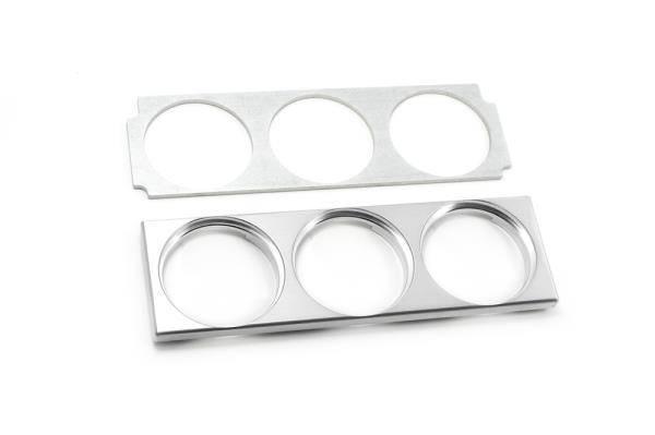42 Draft Designs - Mk4 Triple Gauge Panel Aluminum