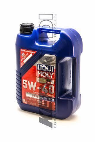 Liqui / Lubro Moly - Liqui Moly Diesel High Tech 5W40 Engine Oil (5 Liter) [PD)