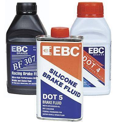 EBC Brakes - DOT 4 replacement brake fluid - case of 6 bottles