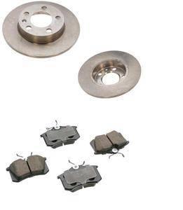 KermaTDI - Mk4 Premium Rear Brake Package for TDI and 2.0 (232x9mm rotor size)
