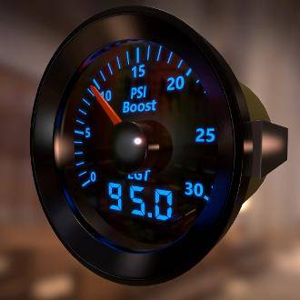 Mcnally Electronics - McNally Boost (0-30) /EGT Combo Gauge Kit