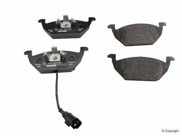 Textar - Front Brake Pads w/ Sensor (Mk4) [Textar]