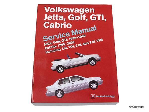 Bentley - Bentley Repair Manual Paper for Jetta TDI [VG99] [Bentley]