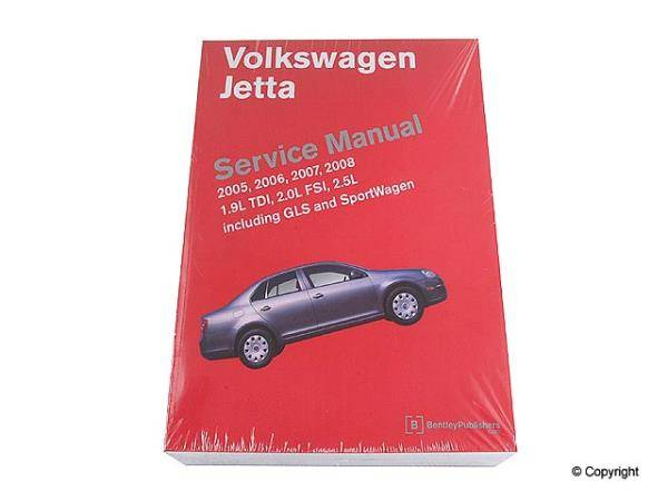Bentley - Bentley Service Manual Paper for Jetta [VJ10] [Bentley]