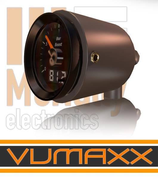 Mcnally Electronics - 3 Mount A-Pillar KUP (2 1/16 inch, 52mm)