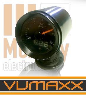 Mcnally Electronics - VUMAXX Universal Gauge Kup 5 Mount ( 2 1/16th inch , 52mm)