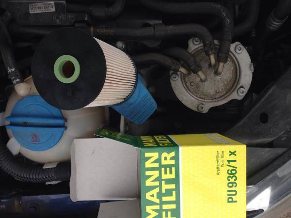 Vw Tdi Fuel Filter Change | Wiring Diagram