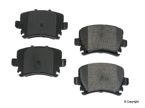 Hudson - Hudson Power Stop Ceramic Rear Brake Pads [1K0698451FCH] [Hudson]