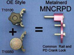 Metalnerd - Universal PD TDI Crank Lock (Replaces T10050 & T10100)