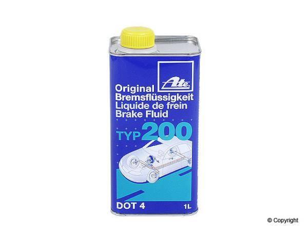 Ate - Ate Brake Fluid-Amber 1 liter