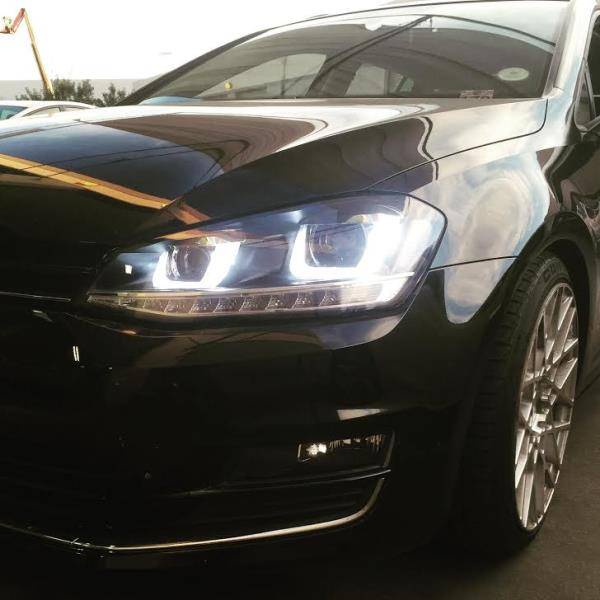 GOLF 7 HID HEADLIGHTS