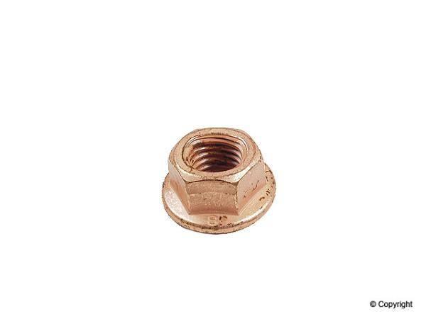 CRP - Copper Nut with Flange (M8) - (shouldered)