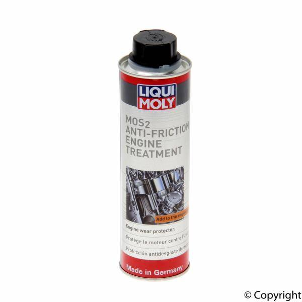 Liqui / Lubro Moly - Liqui Moly Engine Oil Additive MoS2 Anti Friction Engine Treatment; 300ml