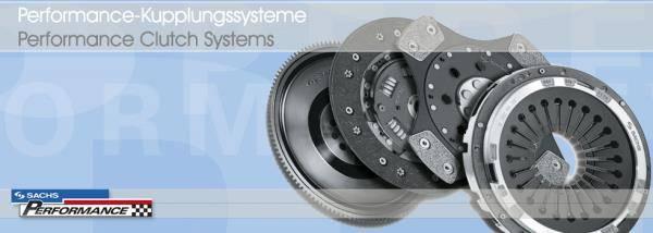 Sachs - Sachs SRE clutch & flywheel kit for 02Q Common Rail 6-speed manual