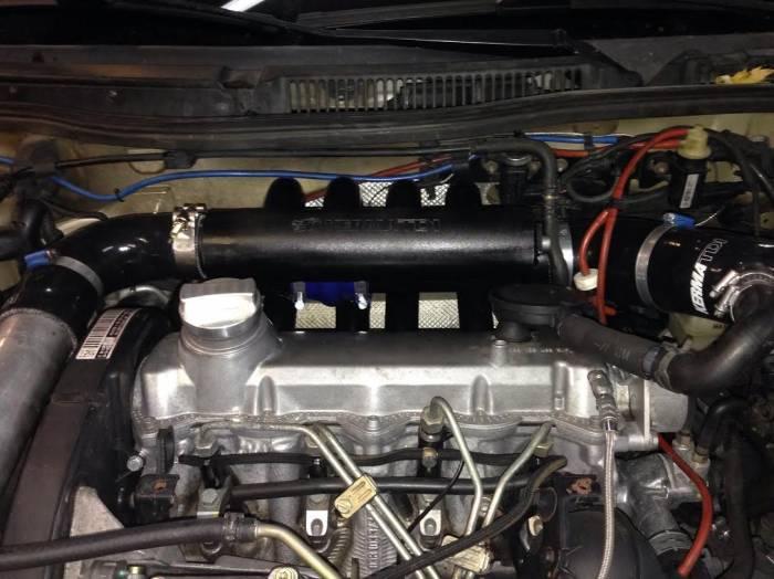 KermaTDI - Long Runner Intake Manifold including Airbox to Turbo piping (Mk4 Golf and Jetta)