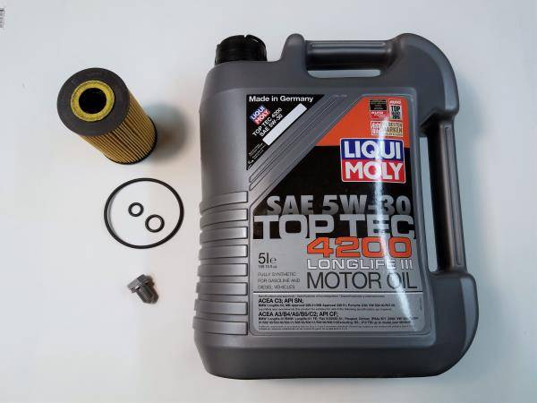Various but Always Quality - Oil Change Kit - CKRA Passat 2012-2014