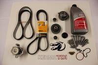 KermaTDI - 100,000 mile Complete Timing belt kit (Mk4 ALH)