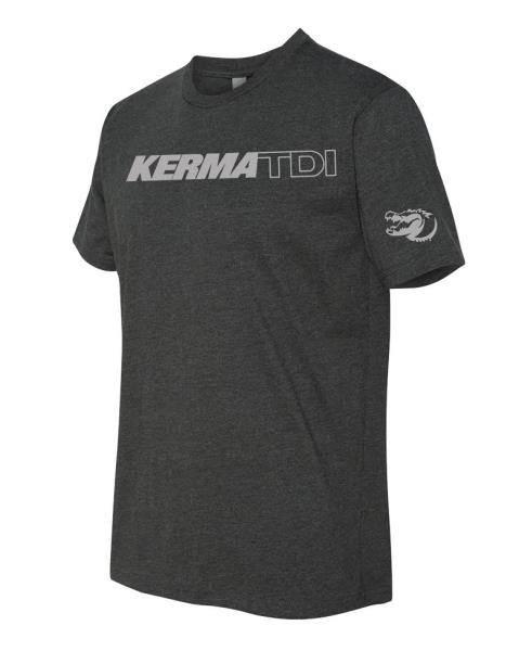 KermaTDI - KermaTDI Tshirt (Grey with Silver Letters)