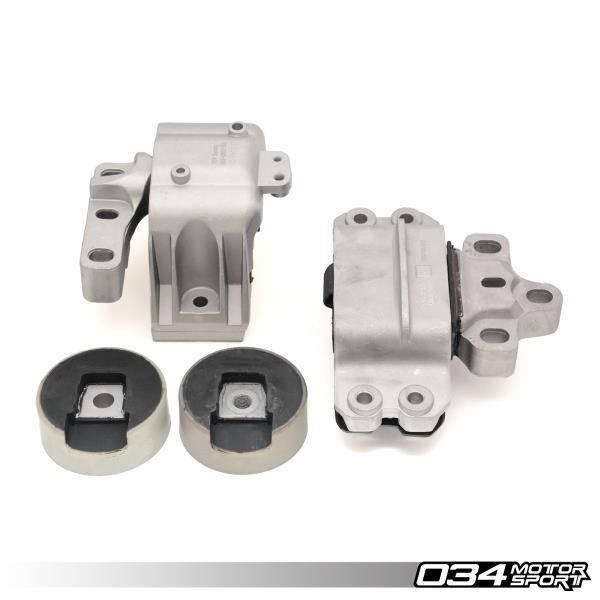 034 Motorsport - Motor Mount Set, Density Line, MkV (2009+ Common Rail) & MkVI Volkswagen, 8J & 8P Audi, 2.0T FSI