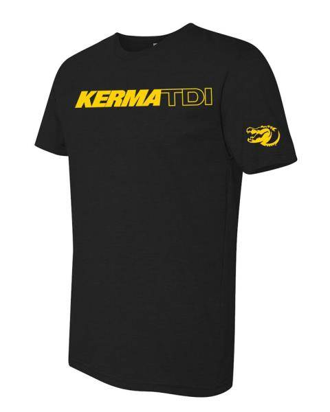 KermaTDI - Kermatee Black with yellow