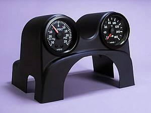 NewSouth Performance - Mk4 Dual ColumnPod (TM) with Indigo Boost (0-35) and EGT Gauge
