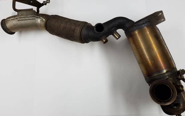 OEM VW - DPF system with Downpipe- Remanufactured (Price Includes $400 refundable Core deposit)