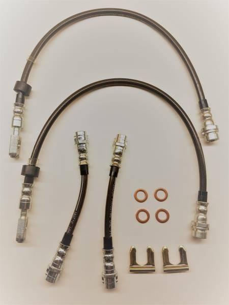 KermaTDI - Mk4 Stainless Steel Brake Lines Set