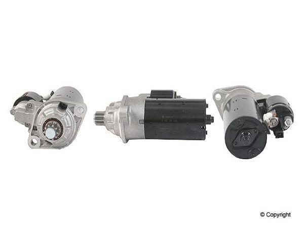 Bosch - Starter (02M 6-speed Swap) ($70 CORE DEPOSIT INCLUDED IN COST)