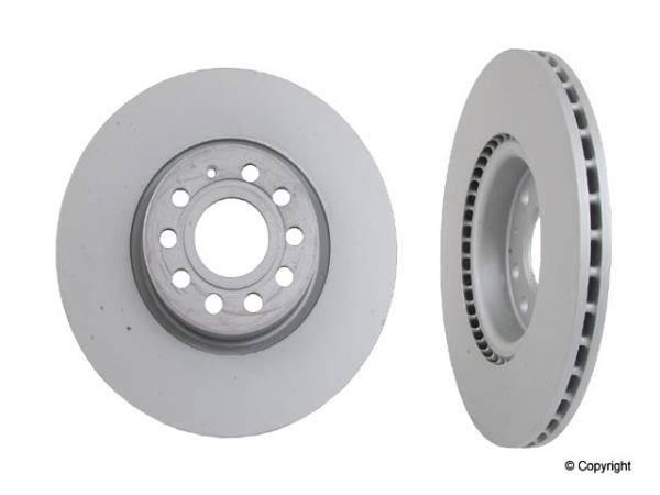 Zimmermann - MK5 Zimmermann Front Rotors (Qty 2) 288mm OD (Coated)