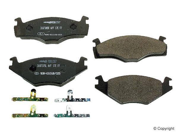 Mintex - Mintex Front Brake Pads (Mk3) (B4)