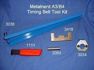 Metalnerd - 5 piece kit- A3/B4 (MKIII) TDI Engine Tools (1996-1999.4)