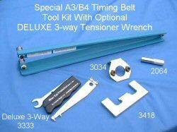 Metalnerd - Mk3/B4 Deluxe Timing Belt Tool Kit for 1Z and AHU Engines (5 pc kit)