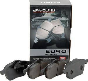 Akebono - Audi Akebono Euro front brake pads A4, A6, A8, S4, S6
