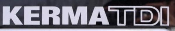 """KermaTDI - 5"""" kermaTDI Window Stickers"""