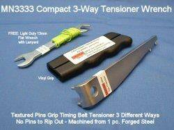 Metalnerd - Part MN3333 - Compact 3-way Tensioner Wrench