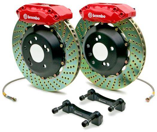 Brembo - Brembo 2 piece GT System for Mk4 (Front System)
