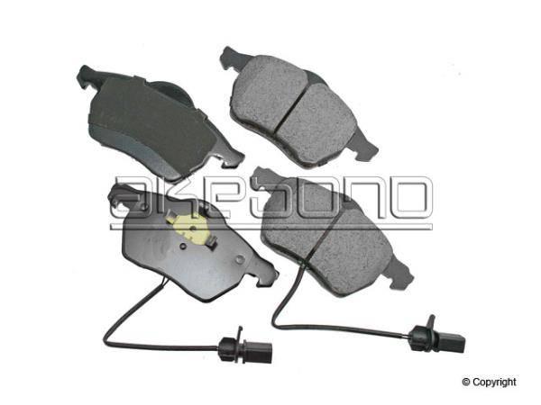Akebono Euro B5.5 Passat Front brake pads (pair)