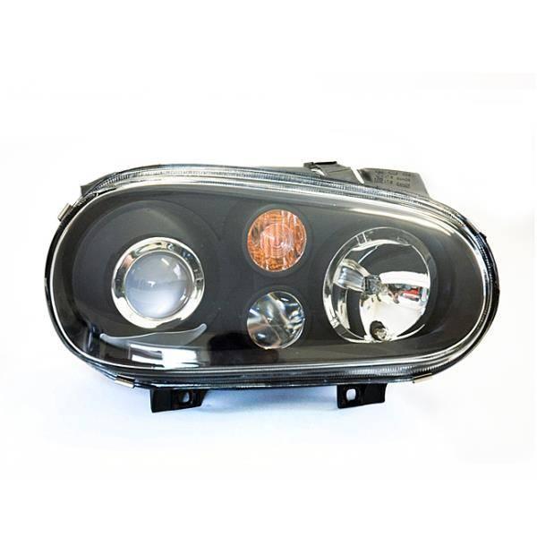 MK4 Golf Projector Headlights (Black)