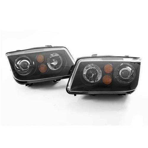 MK4 Jetta Projector Headlights (Black)
