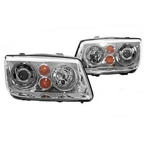 MK4 Jetta Projector Headlights (Chrome)
