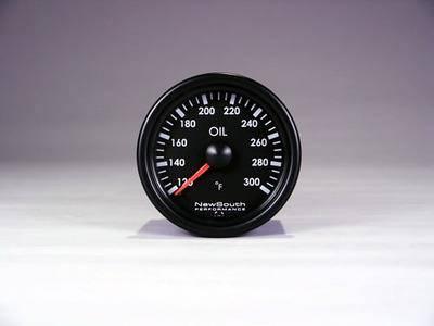 NewSouth Performance - Indigo 300 degree F Oil Temperature Gauge