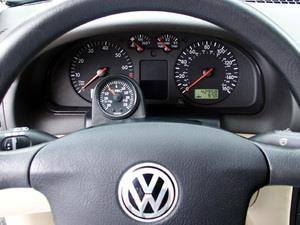 NewSouth Performance - B6 Passat ColumnPod with or without Indigo Boost Gauge Complete Kit